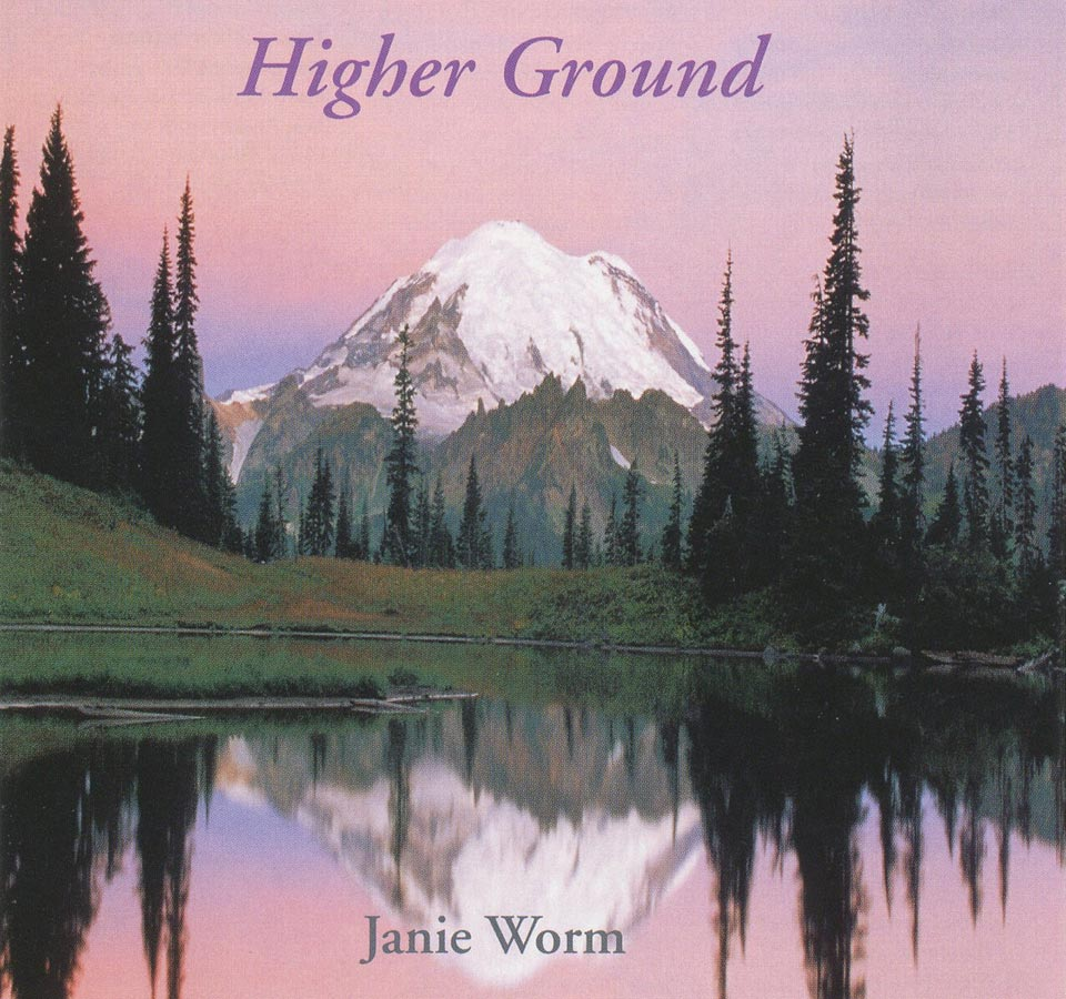 CD cover from Higher Ground by Janie Worm