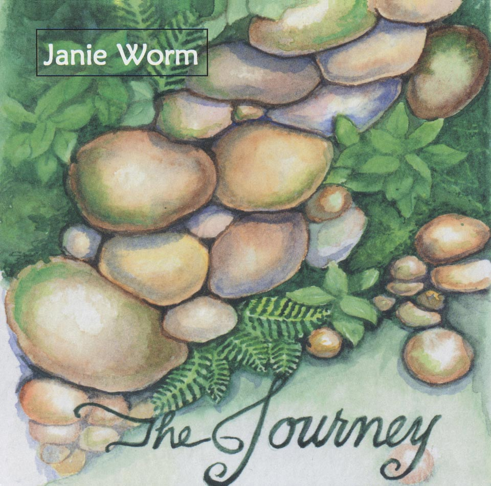 CD cover for The Journey by Janie Worm