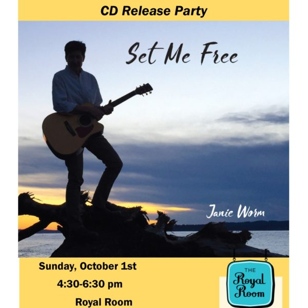 SET ME FREE CD Release Party - 4 Days Away!
