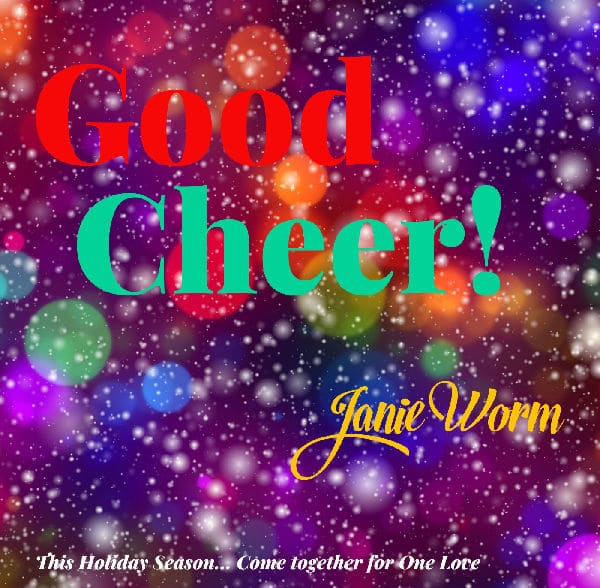 CD cover - Good Cheer by Janie Worm
